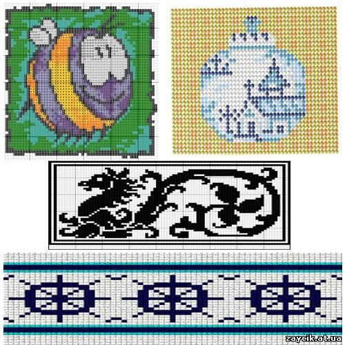 ручное ткачество бисером схемы - Сайт о бисере.