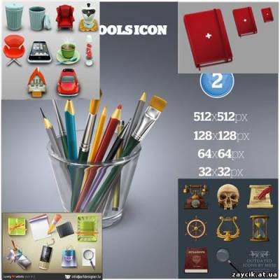 "...дополнения составляют сеты иконок из перечня  ""The Best Free Icon Sets..."