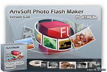 AnvSoft Photo Flash Maker - program to create animated slideshow with